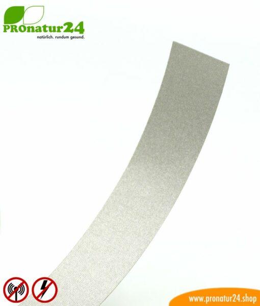 Selbstklebendes Erdungsband EB2 mit starkem, nicht leitfähigem Kleber für Abschirmfarben, Abschirmgewebe und Abschirmvliese, HF, NF