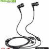 KINDEN Luftkabel Anti Strahlung Headset mit Mikrofon. In-Ear-Headset AirTube gegen EMF für Apple iPhone, iPad, iPod, Samsung, Galaxy, HTC, Sony, Mp3 Player. Erhältlich bei Amazon.