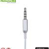 KKmoon AirTube Monaural In-Ear-Headset mit Microphon. Gegen Elektrosmog mittels Luftschlauch. Klinkenstecker. Für iOS und Android. Verfügbar auf Amazon.