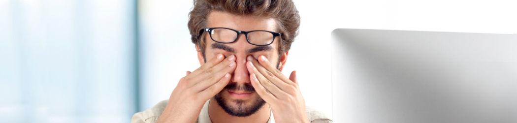 Mit der automatischen Farbkalibierung f.lux gegen u.a. müde Augen wirken.