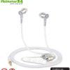Tuisy AirTube Anti Elektrosmog Stereo Headset mit Mikrofon. Durchdachter, patentierter Luftkabel Kopfhörer mit Lautstärkeregelung für Smartphones.