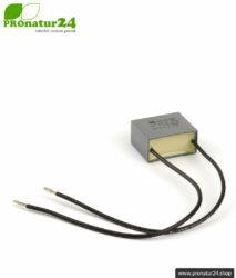 Netzfilter X21 1 µF (Kapazitätsfilter gegen Dirty Electricity)