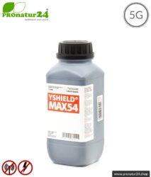 Abschirmfarbe MAX54   HF Abschirmung bis zu 84 dB. Entwickelt für maximale Schirmdämpfung gegen Elektrosmog durch 5G oder WIFI 6.   Erdung notwendig.