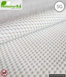 NEW ANTIWAVE Abschirmstoff | Herstellung abschirmende Bekleidung und Unterwäsche | HF Abschirmung bis 33 dB. Schutz für unterwegs vor Handystrahlung.