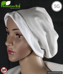 ANTIWAVE abschirmende Mütze Beany | Schutz vor Elektrosmog HF mit Wirkungsgrad >99,9 % (Handy, WLAN, LTE) | 5G ready!