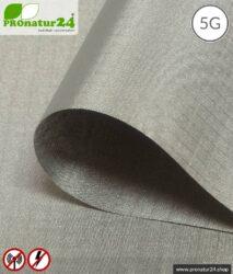 Abschirmgewebe HNG100   HF Schirmdämpfung gegen Elektrosmog bis 100 dB   Zur Verlegung. 90 cm Breite. Erdung notwendig. Wirkungsvoll gegen 5G!