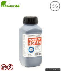 Abschirmfarbe HSF54 | HF Abschirmung bis zu 67 dB. Klassiker von YSHIELD. | TÜV SÜD zertifiziert | Erdung notwendig. Effektiv bei 5G!