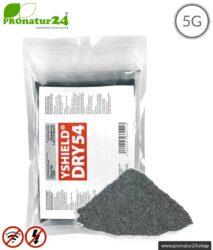 Spezial Abschirmfarbe DRY54 in Pulverform | HF Abschirmung bis zu 75 dB | NF Erdung notwendig | Effektiv bei 5G!