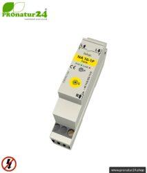 Masterschalter Serie   Netzfreischalter NA 16-1P Funk mit dualer Betriebsart   baubiologische Funktechnik nach enOcean Standard   inklusive LED Kontrollleuchte